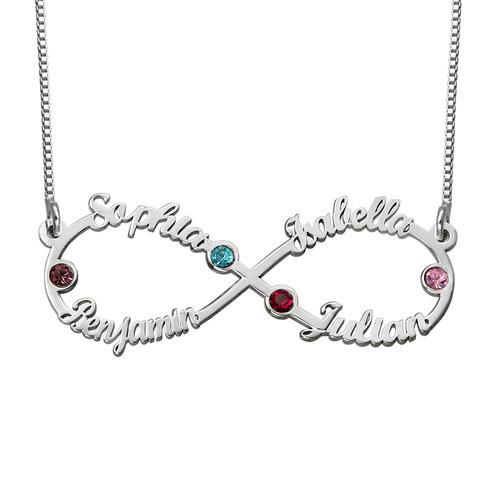 Halskette mit Namen, unendlicher Name, Unendlichzeichen | sportshop3000