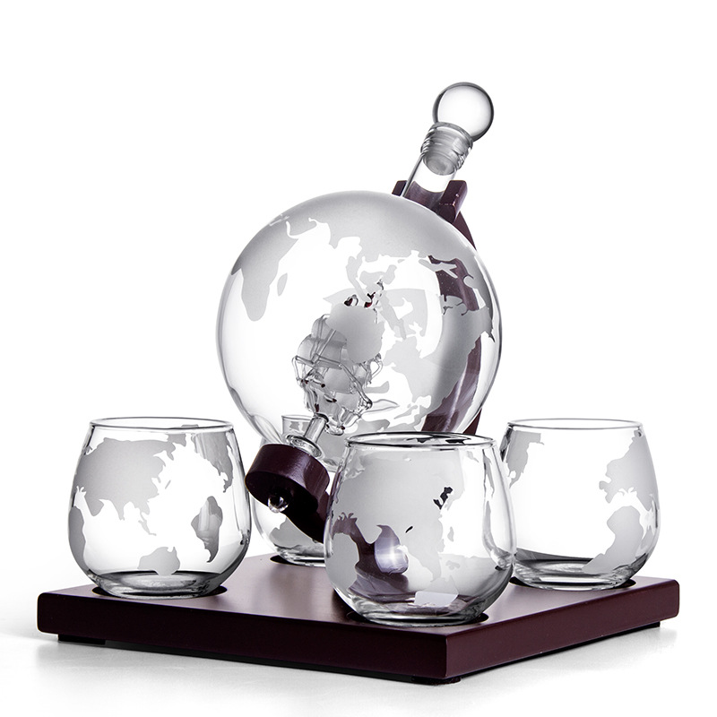 Globe Wine Container Set 15