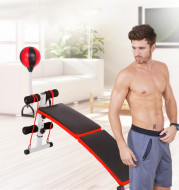 Adjustable Foldable Utility Bench Weightlifting And Strength Training Sit Up Ben