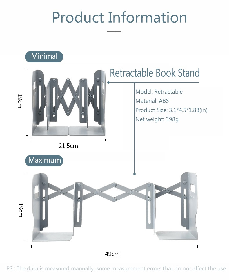 Retractable Bookends For Shelves 13