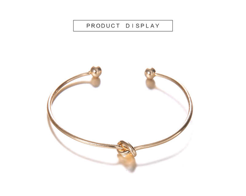 knotted gold and vintage bracelet for women