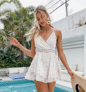 Sling Print Dress