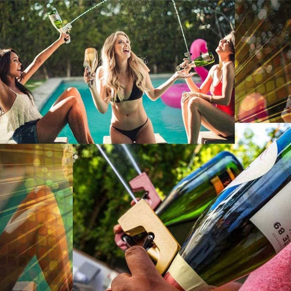 Champagne Gun Ejector Wine