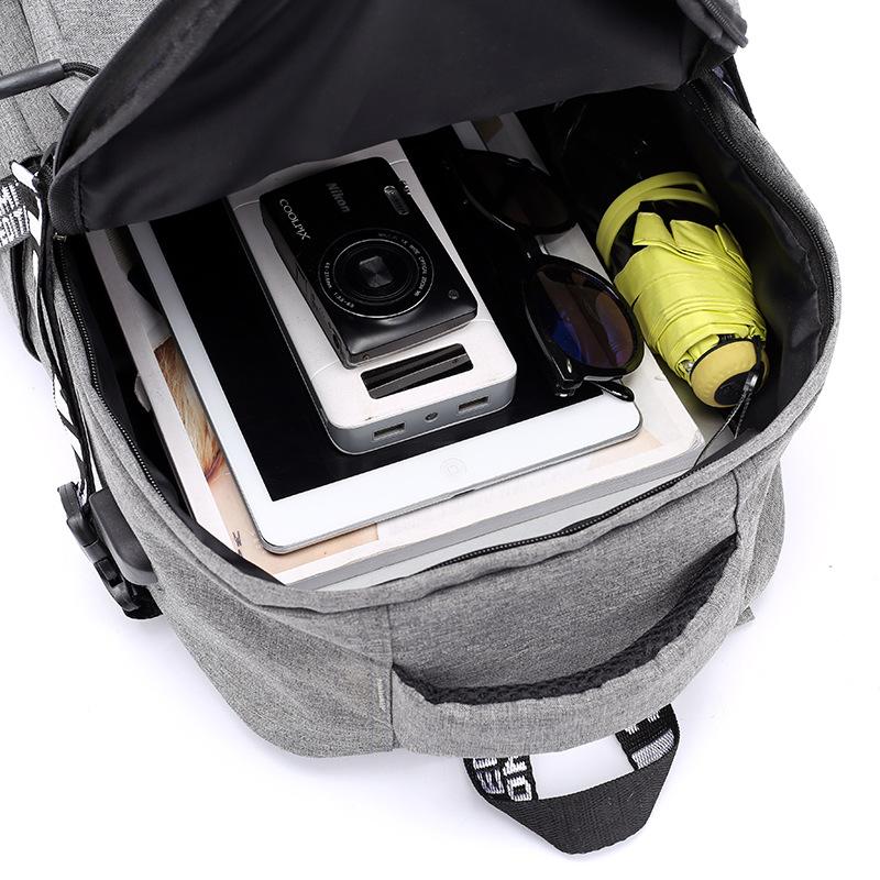 Laptop Backpack USB Charge Backpacks allinonehere.com