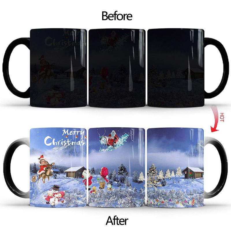 DIFFRIENT TYPE OF Magic Christmas Mug