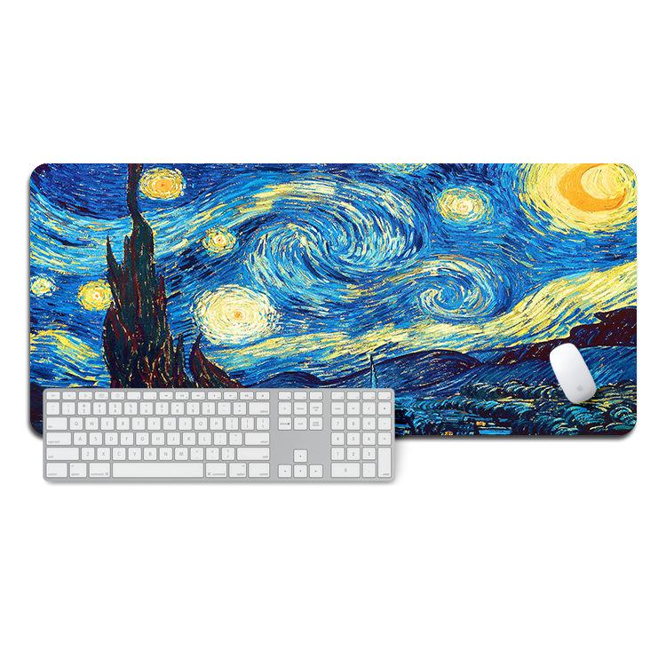 Tapis de souris XXL – Van Gogh – La nuit étoilée