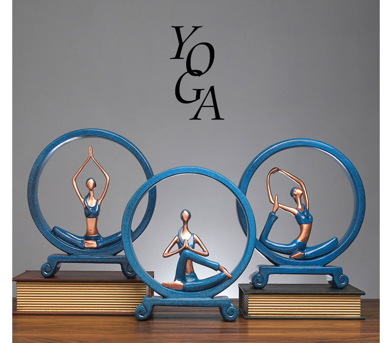Yoga Figure Ornaments 6