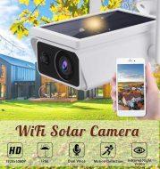 CCTV Solar Power Security Camera