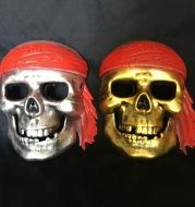 Skull pirate headgear
