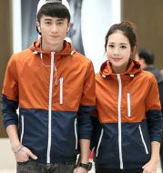 Thin windbreaker casual jacket outdoor sports hooded jacket