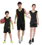 Adult male and female children basketball code suit custom DIY basketball clothing training service