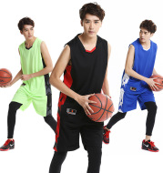 Quick-drying sports men's basketball clothes