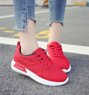 New shoes for women, women's lace UPS, casual running shoes, flat sole shoes