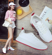 Breathable And Comfortable Low-cut White Shoes