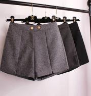 High waist woolen cloth for casual wear