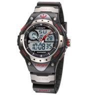 Dual display dual machine sports watch