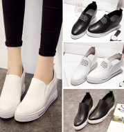 2021 new wholesale increased loafer pedal shoes casual shoes platform shoes on behalf of women