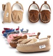 Winter Newborn Baby Super Warm Soft Bottom Anti-slip shoes Crib shoes