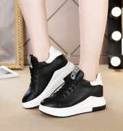 All-Match Net Red Thick-Soled White Shoes Small Size Sports Casual Shoes