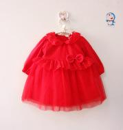 Baby 100 day old wine set, photo dress, princess dress, lace sweet baby, soft silk dress dress