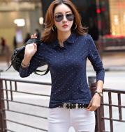 Long sleeve women's shirt bottoming shirt
