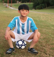 16 new Argentina home outfit, blue football suit, children's short sleeve training suit, school dress