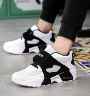 Spring and autumn men's Korean sports shoes fashion shoes damping Mens Casual shoes soled breathable shoes
