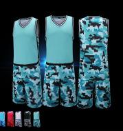 2021 new style summer sports training basketball suit match personality print customized sleeveless shirt ball clothing