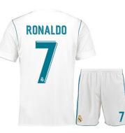 Real Madrid jerseys 17-18 home football suit No. 7 C Ronaldo 9 Benzema Baer 11 away suit