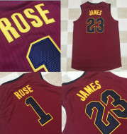2021 new season jerseys wholesale Cavaliers James 23# Ross 1#AU embroidered basketball uniforms