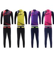 Long sleeve football suit, manufacturer's customized light plate men's and women's uniforms Training Football Jersey