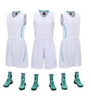 Basketball suit, men's group, team school, training shirt, custom print number, agent on behalf of a generation