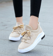 Sports Shoes, Single Shoes, All-Match Casual Shoes, Thick-Soled Inner Height Shoes