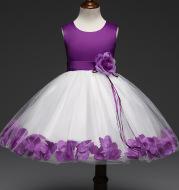 Cross border dress for children, girls, dresses, babies, princesses, dresses, skirts, flowers, dresses, children's wear