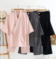 Summer and autumn pajamas work clothes