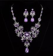 Necklace Earrings Temperament Wedding Accessories Women