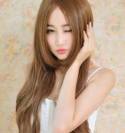 Mid-length wig