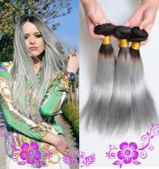 Smoke gray wig