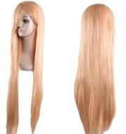 Anime wig, long straight hair