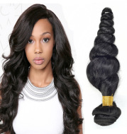 Loose wave real hair wig hair curtain vrigin hair factory direct selling price in Europe and America