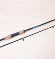 carbon handle straight fishing rod