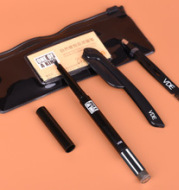 The new VDE rotary solid natural eyebrow eyebrow pencil eyebrow eyebrow eyebrow knife eyebrow clip set fine suit