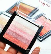 Thailand odbozisa five color gradient palette bronzing not dizzydo peach Eyeshadow makeup female nude make-up makeup