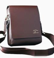 Nouveau Arrivé Marque Kangourou hommes de messager sac Vintage sac à bandoulière en cuir Beau sac bandoulière Livraison Gratuite
