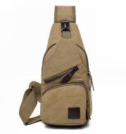Wholesale new Leisure Canvas chest bag men skew bag Korean tide fashion bag backpack student sports bag