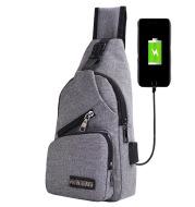 One shoulder crossbody bag