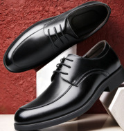 Men's classic business leather shoes