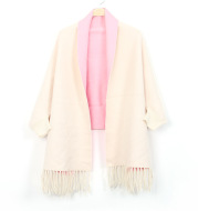 Women's Double-sided Double-color Scarf