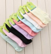 Sports invisible massage bottom socks