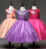 Children's wear girls dress sequined princess dress children's dress children's dress